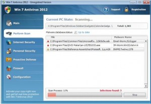 Fake Win 7 Antivirus 2012